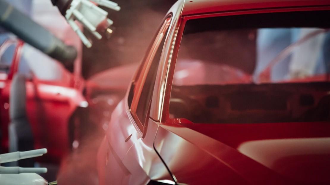 Πως προκύπτει ένα χρώμα για βαφή αυτοκινήτου;