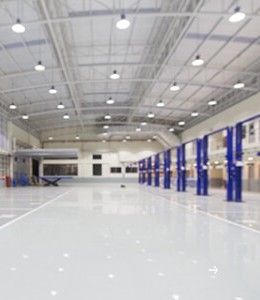 4,000 sqm workshop